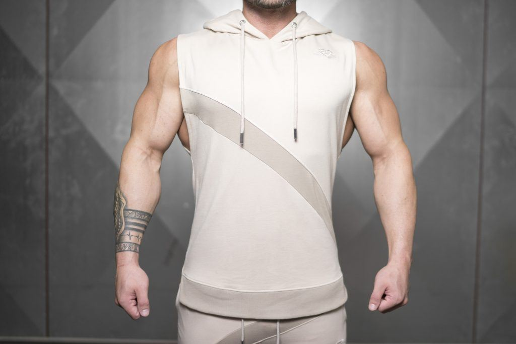 NERI Prometheus Sleeveless Vest – Sand