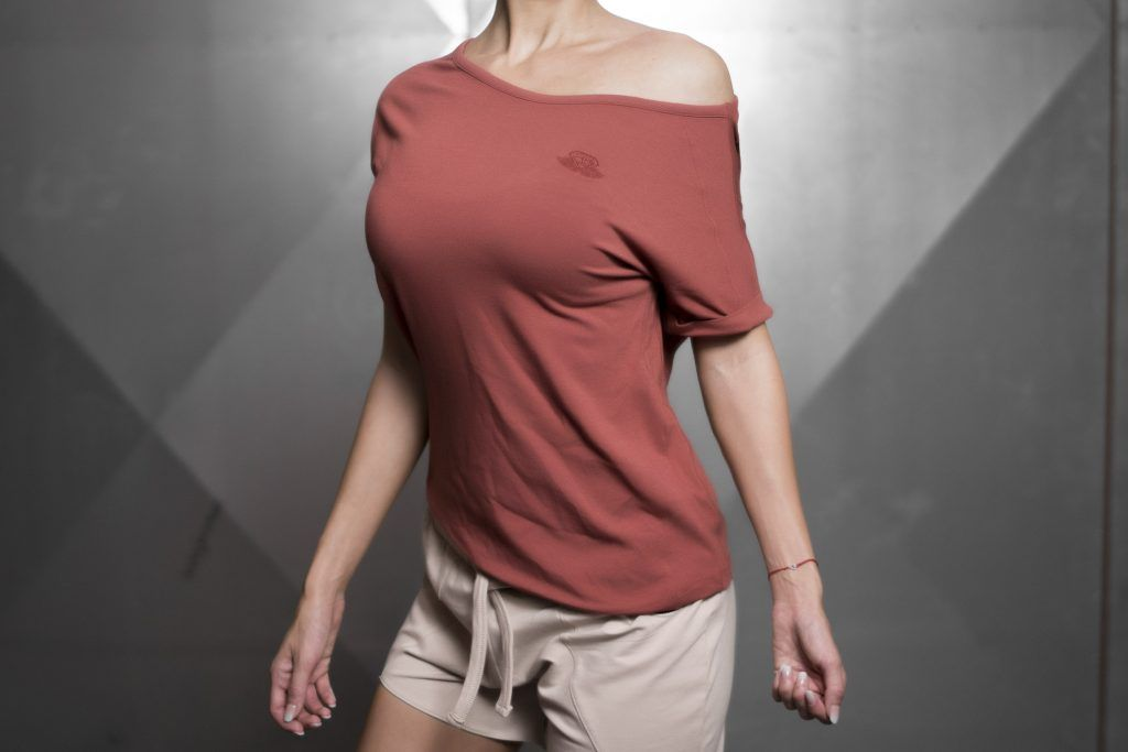 Drop Shoulder Prometheus T – TERRA ROSE