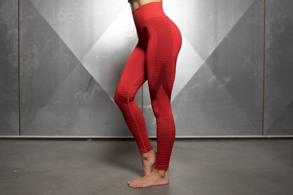 FREYA Seamless Legging High Waist – FIRE RED