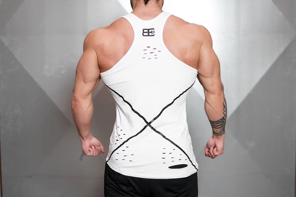 SAVIGE Prometheus Tank TOP – WHITE OUT