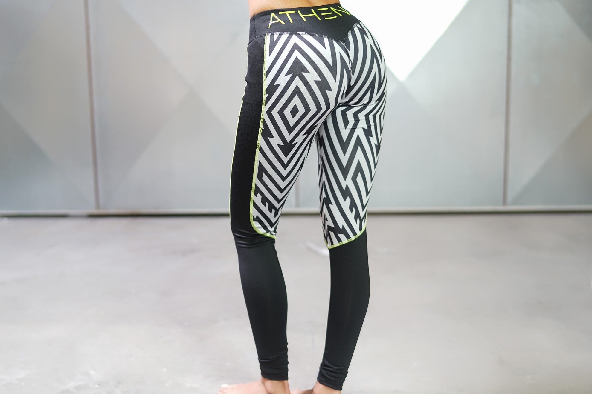 LOTUS Tesla legging – Black/Grey