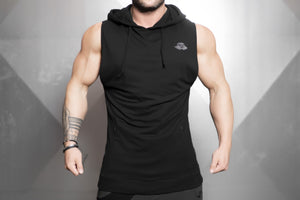 VENOM SLEEVELESS Sweater – BLACK OUT
