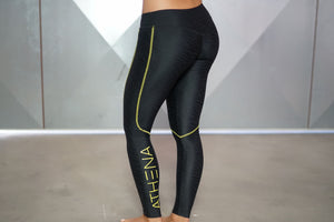 Zebra Legging Black