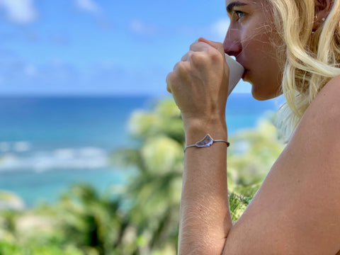 Bathsheba Views With My WhatNotz Bracelet