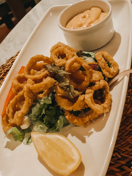 Fish Pot Barbados Calamari