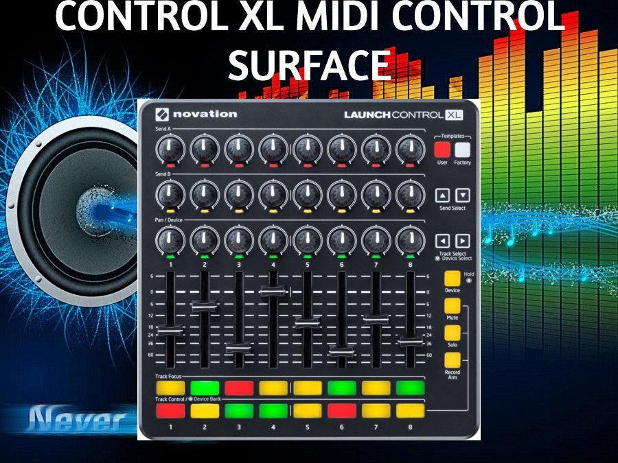 novation launch control xl midi control surface