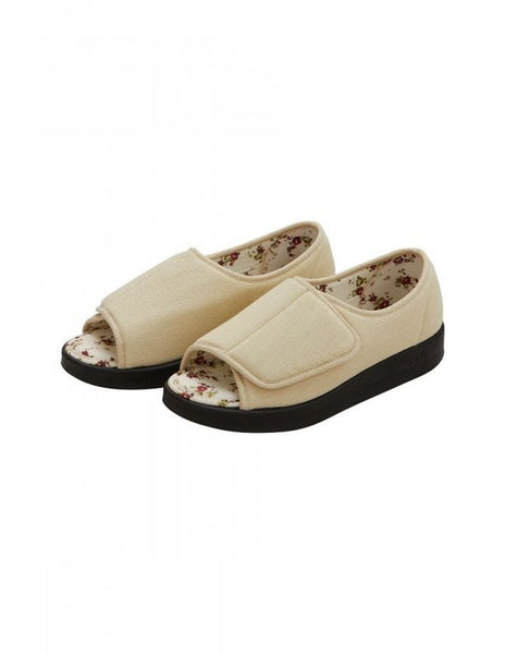 Open Toed Shoes/Sandals (Beige)