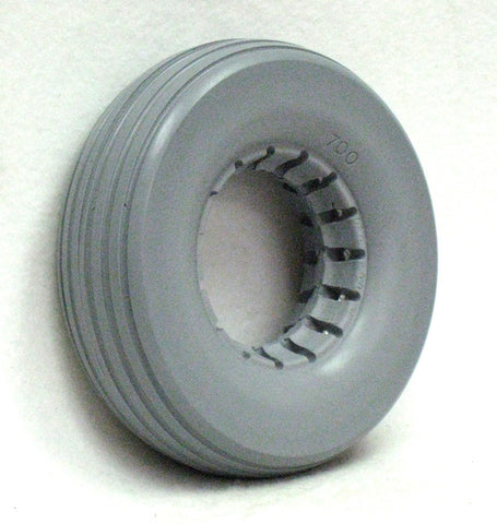 "8 x 2 1/4"" Solid Urethane Tire"