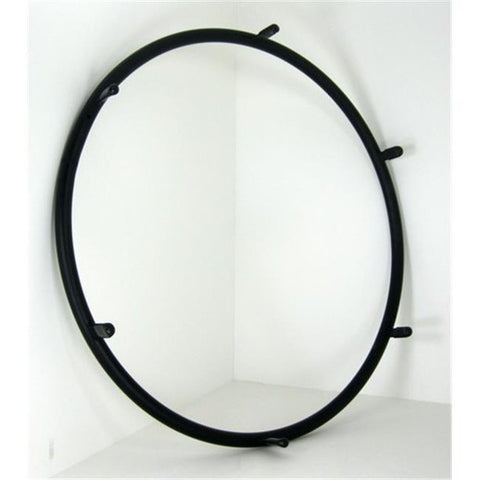 Black Anodized Handrims-(Tab-Mount)