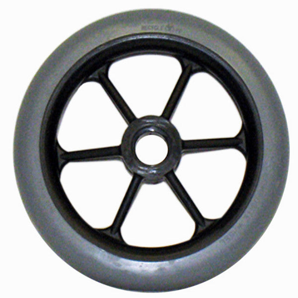 Six Spoke Wheelchair Caster Wheels