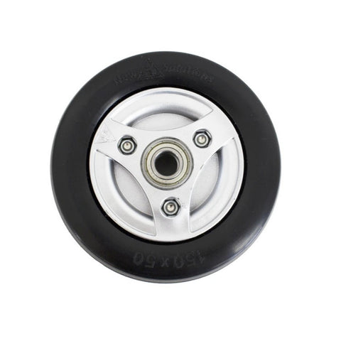 Permobil Wheelchair Caster Wheel (Black)