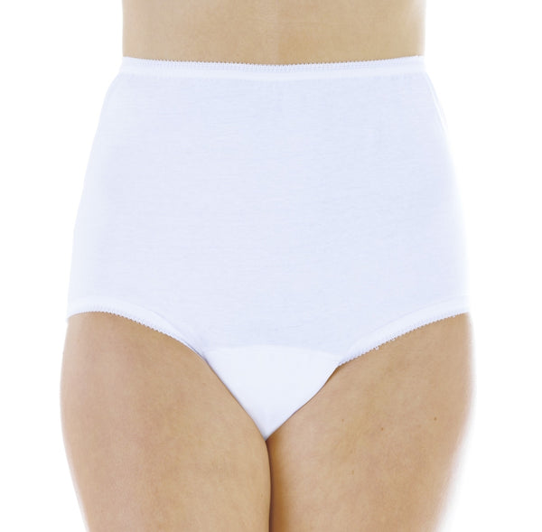 Cotton Comfort Panty (White)