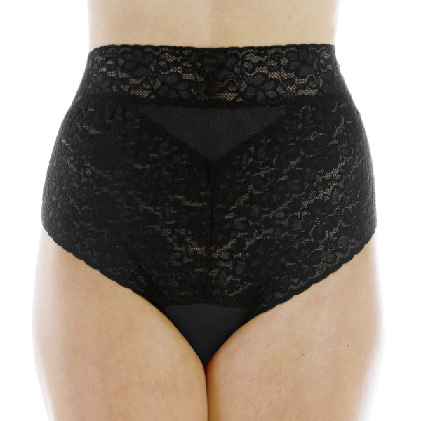 Lovely Lace Panties (Black)