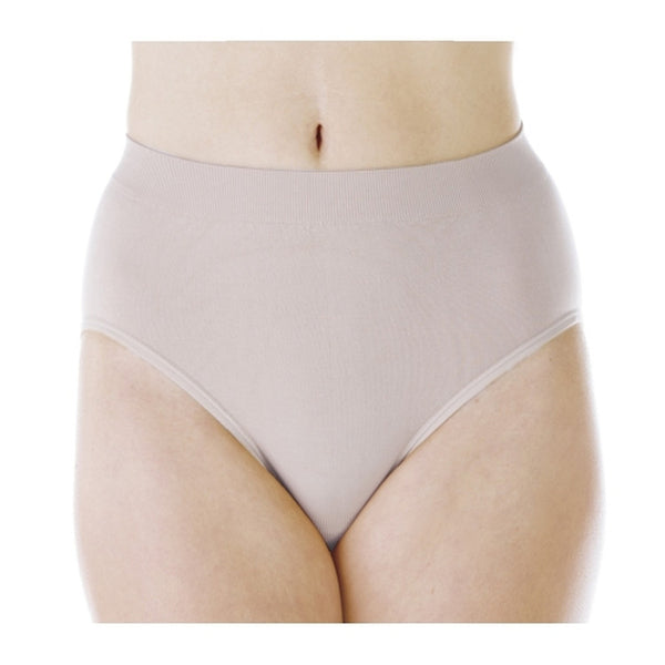 Smooth & Silky High-Leg Panty (Beige)