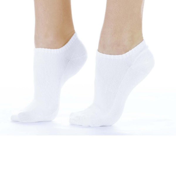 Buster Brown No-Show Socks (White)
