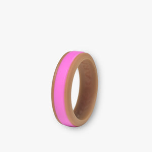 Women's Duo Silicone Ring Cinnamon - 3 Color Set