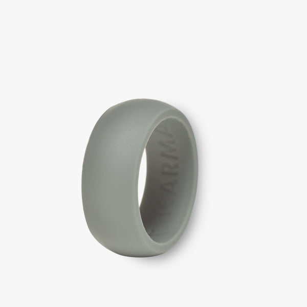 Men's Solo Silicone Ring Iron Grey