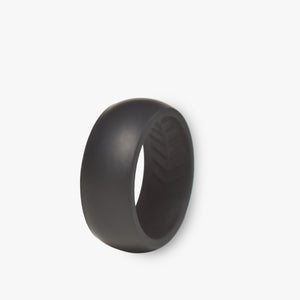 Men's Solo Silicone Ring Jet Black