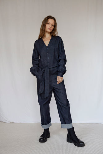 The Marshes Denim Jumpsuit