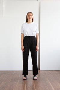 STAN Wool Pleated Trousers