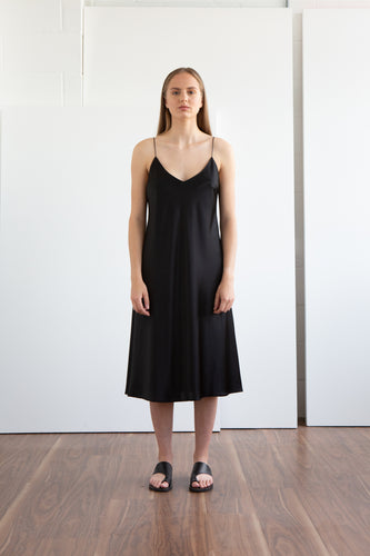 LEN Peace Silk Slip Dress