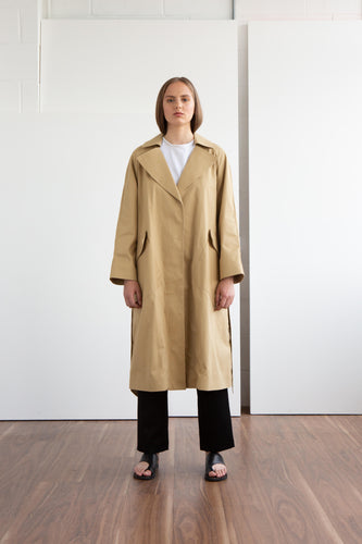 JAMES Wrap Coat