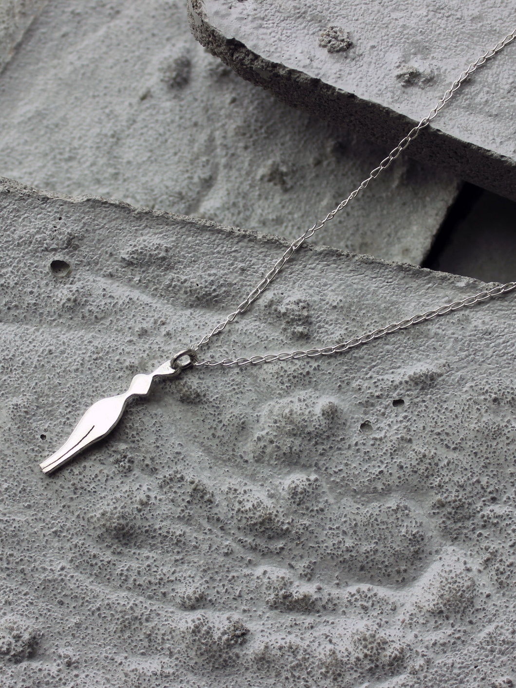 Shapes - Hour glass Necklace