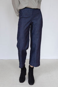 The Marshes Dark Blue Denim Trousers