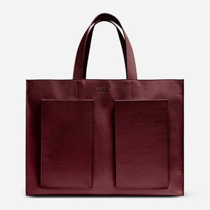 Fields Tote - Red Wine