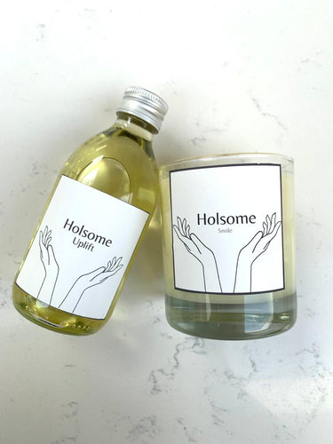 'Acceptance' Candle and Body Oil Set