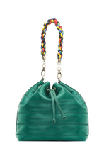 Load image into Gallery viewer, Emerald Green Ju Bucket Bag