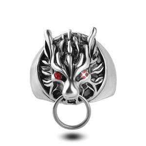 Furious Wolf Ring