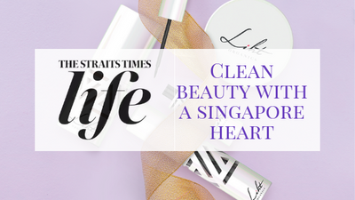 [FEATURE] THE STRAITS TIMES Life - Clean beauty with a Singapore heart