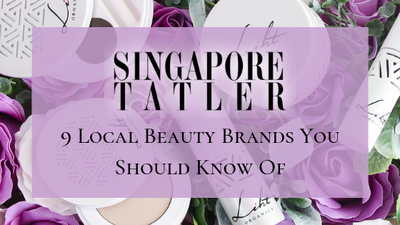 [FEATURE] SINGAPORE TATLER - 9 Local Beauty Brands You Should Know Of