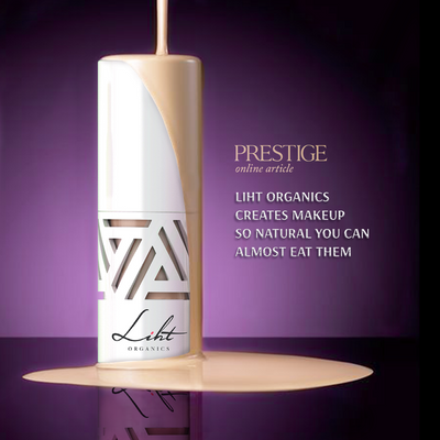 [FEATURE] PRESTIGE - Liht Organics creates makeup so natural you can almost eat them