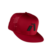 Aptayn - Infinite Edition Performance Snapback Cap - Sequor Red - Aptayn Performance Headwear Lauf & Triathlon Caps und Kappen