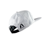 Infinite Edition Performance Snapback Cap - Arctic White