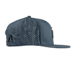 Infinite Edition Performance Snapback Cap - Charcoal Blue