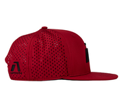Infinite Edition Performance Snapback Cap - Sequor Red - Aptayn Performance Headwear Lauf & Triathlon Caps und Kappen