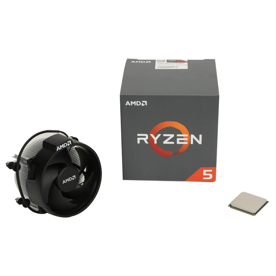 AMD YD1600BBAEBOX Ryzen 5 1600 Processor with Wraith Spire Cooler Desktop CPU