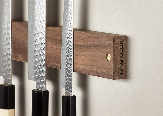 Magblok magnetic knife rack