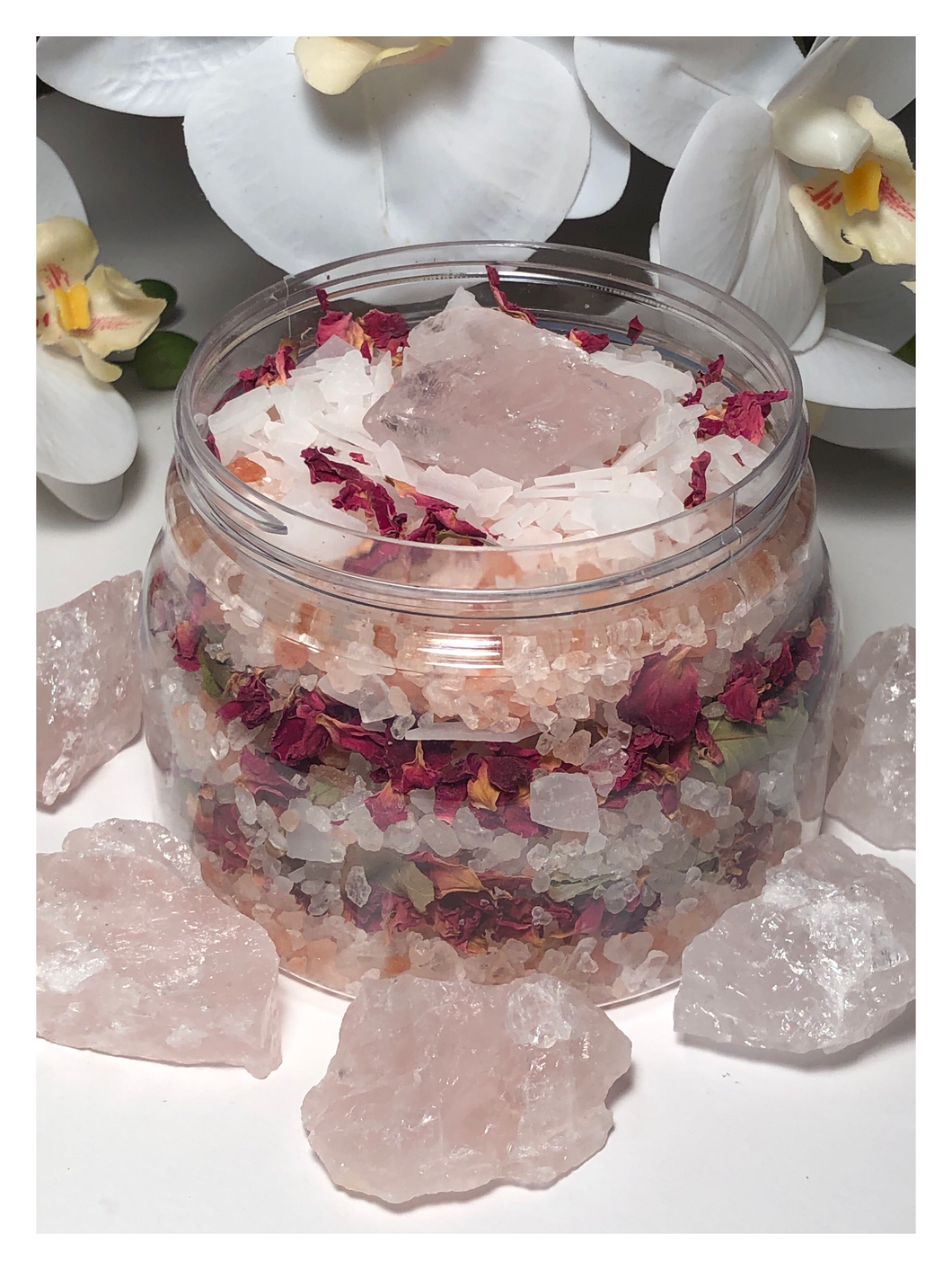 Herbal Self Love Rose Quartz Bath Soak