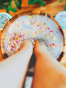 Fancy Feet Peppermint Foot Scrub