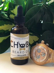 CHUBS Beard Growth & Conditioning Oil