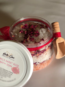 Cheryl's Sweet Rose Bath Soak