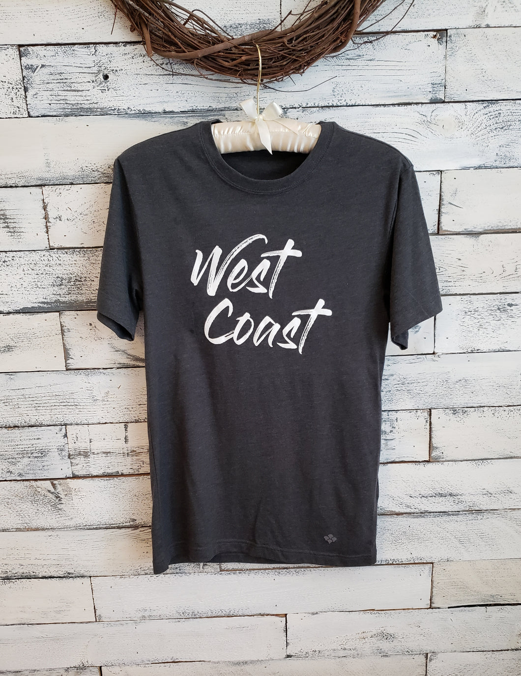 West Coast Unisex Tee (HEATHER GREY)