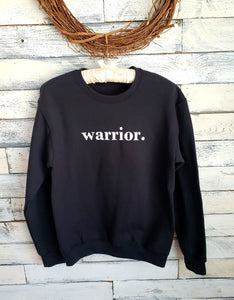 Warrior Unisex Sweatshirt (BLACK)
