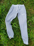 Local Unisex Slim fit Joggers (Marled White)