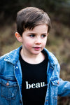 Beau Unisex Kids Sweater (BLACK)