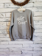 West Coast Unisex Sweatshirt (LIGHT GREY)